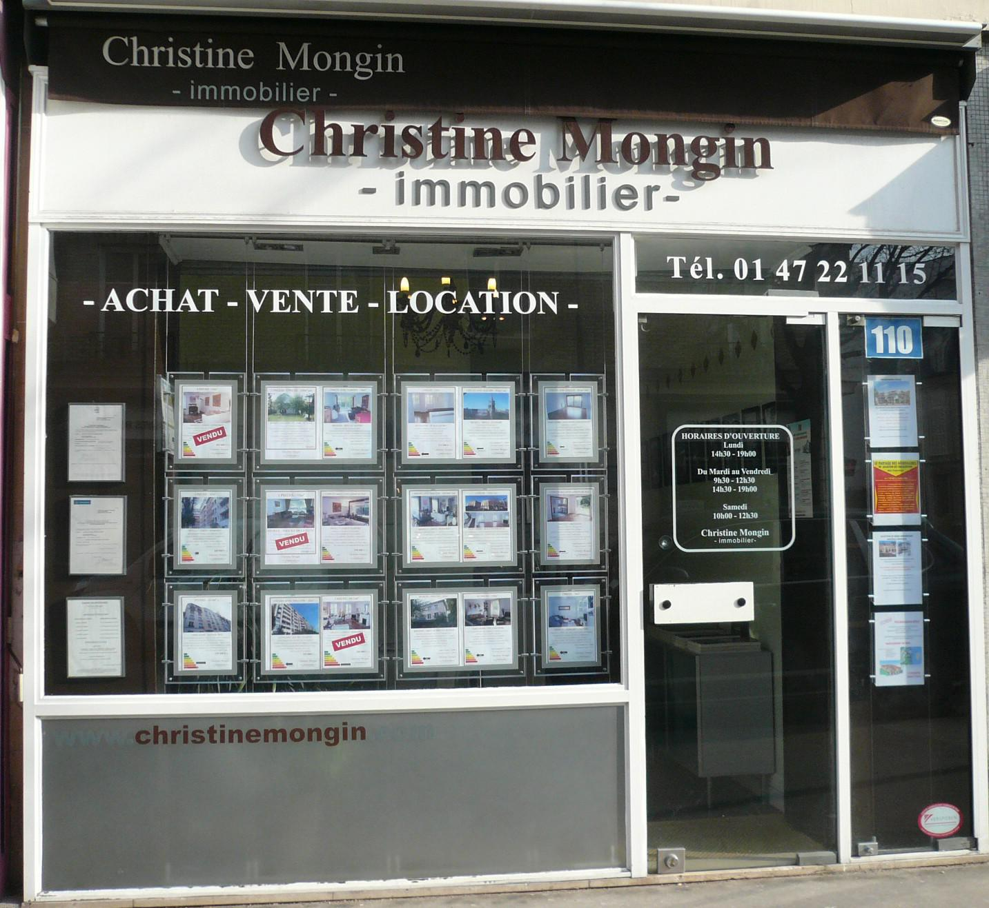 Image de l'agence Christine Mongin Immobilier