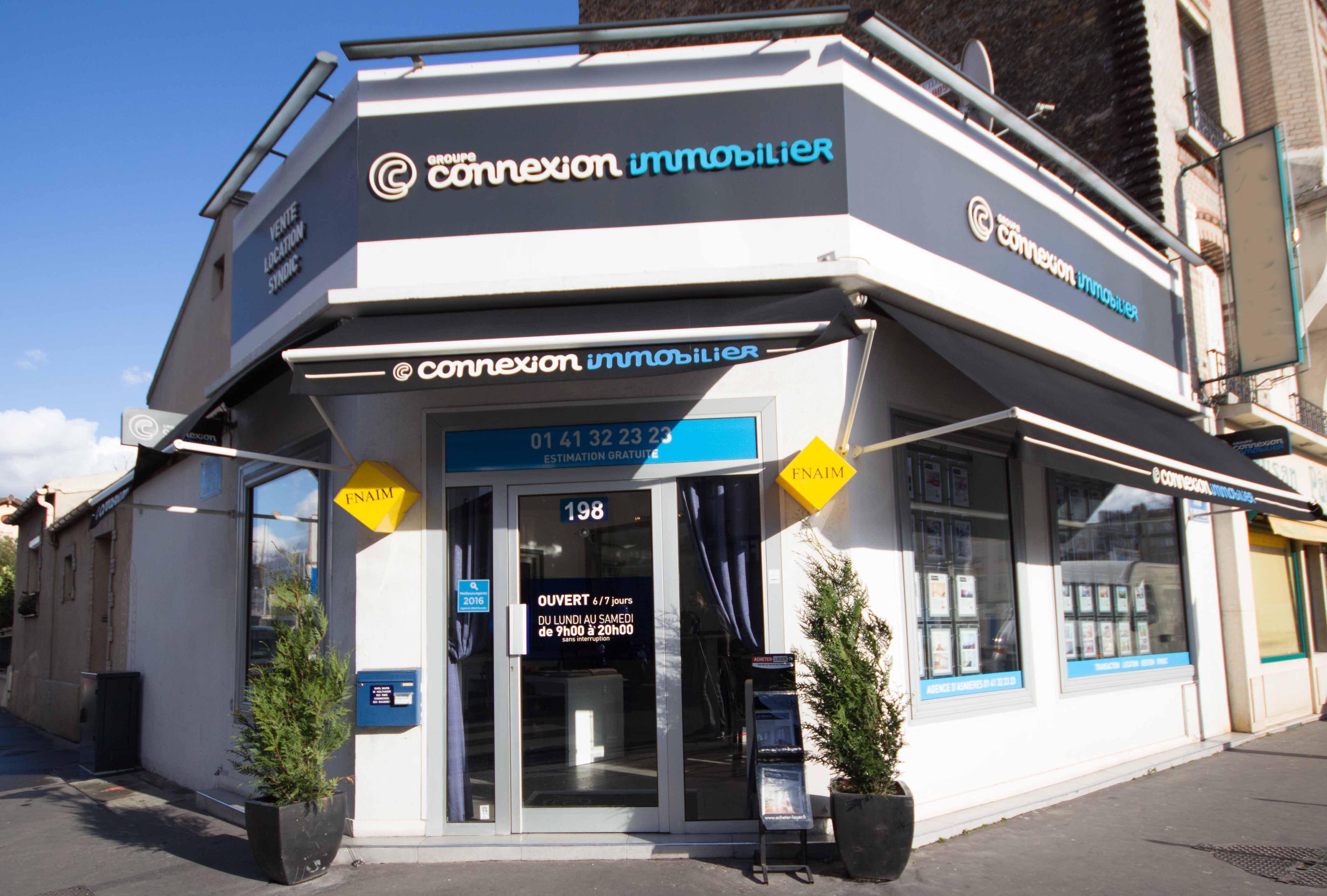 Image de l'agence Connexion Immobilier Asnières-sur-seine