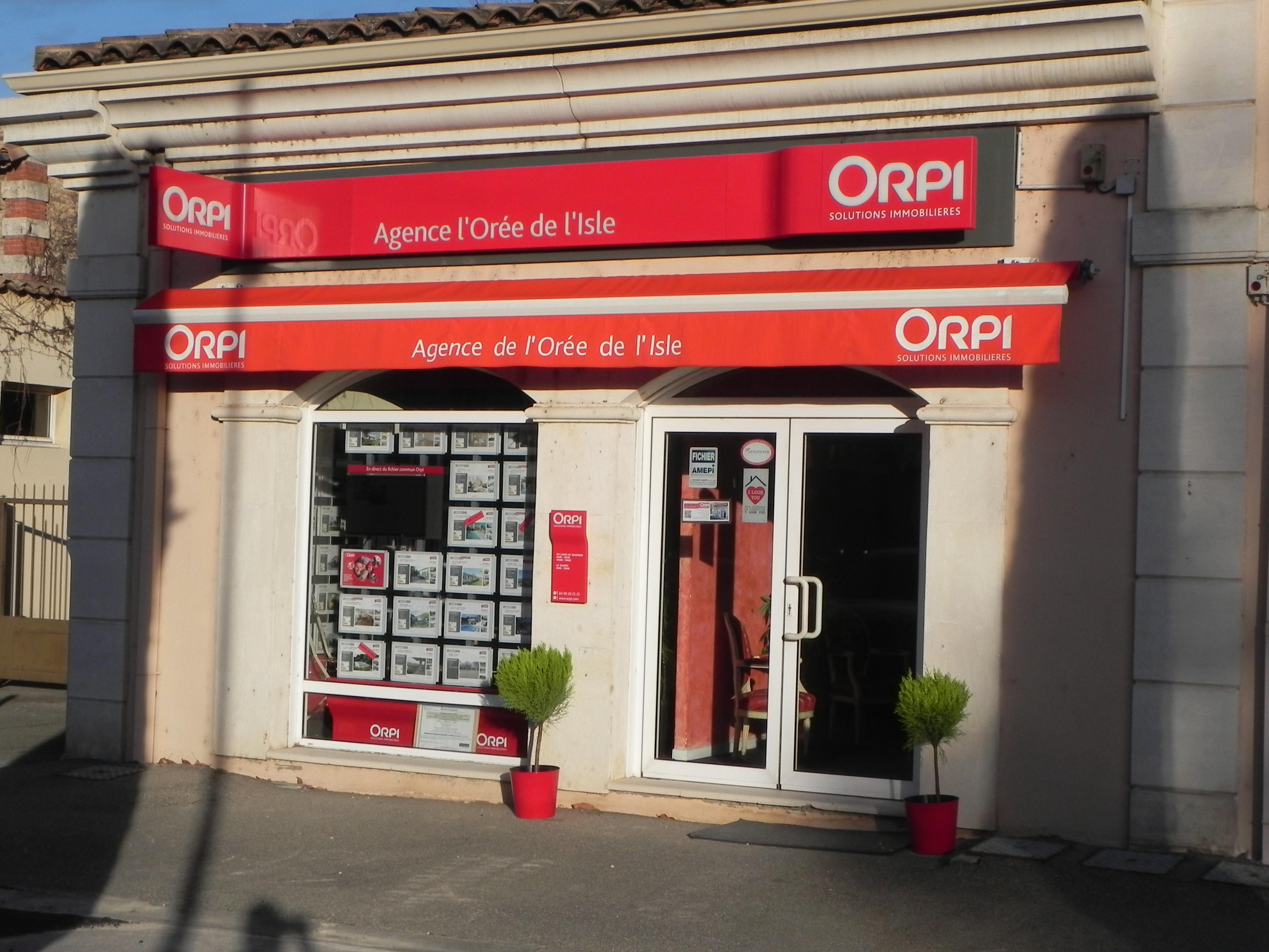 Image de l'agence ORPI - Agence L'orée De L'isle