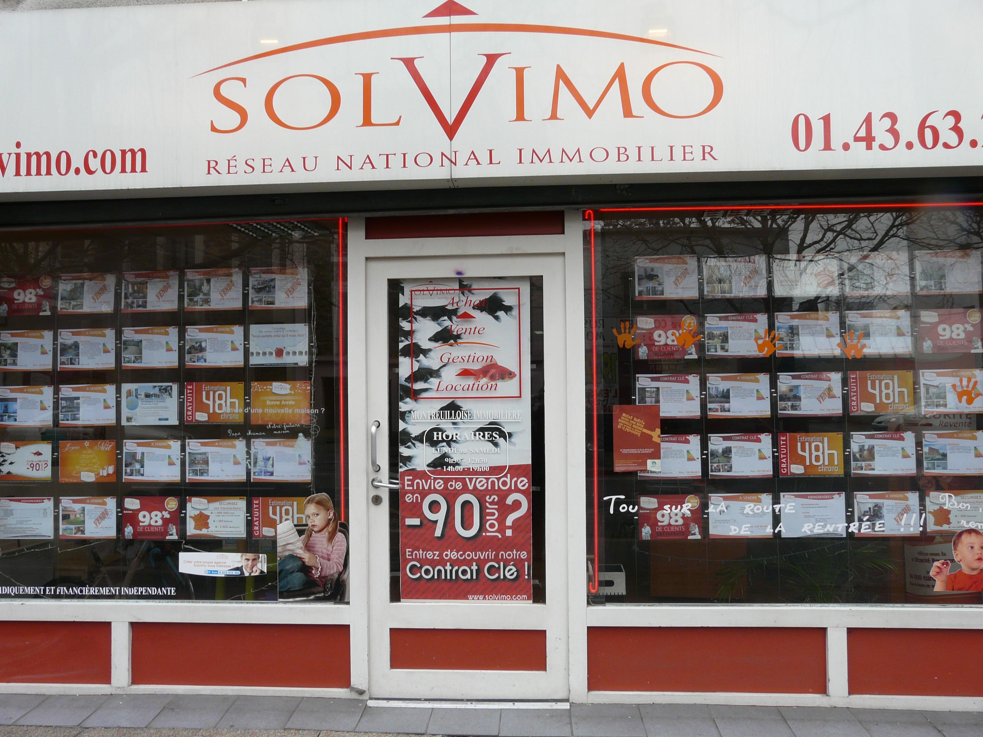Image de l'agence Solvimo Montreuil